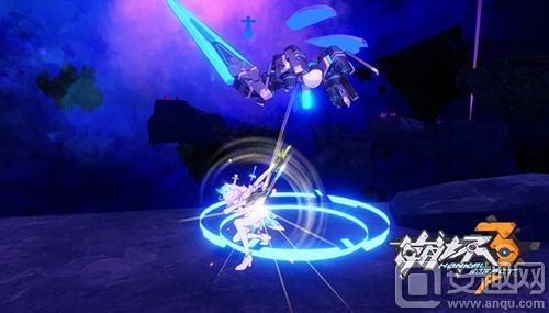 图05 《崩坏3》游戏截图—琪亚娜穿着冬之公主战斗.jpg