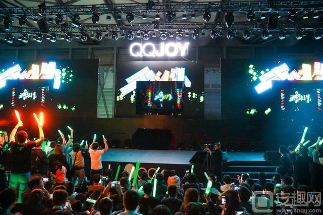 QQJOY不只有电竞比赛 电竞之夜把年轻人都燃爆了