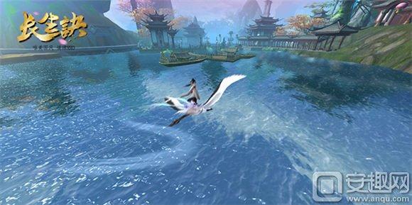 风际游戏首款MMO产品《长生诀》首次曝光