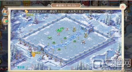 玩家在冰封幻境中找到冰雪乐园园长就可以通关