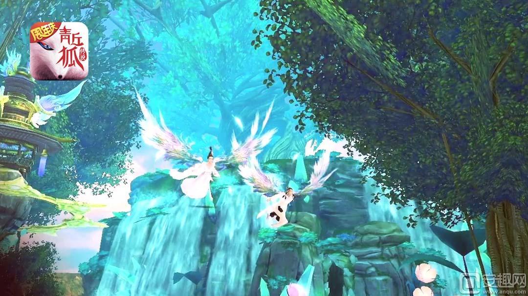 图1《青丘狐传说》手游——双人飞行.jpg