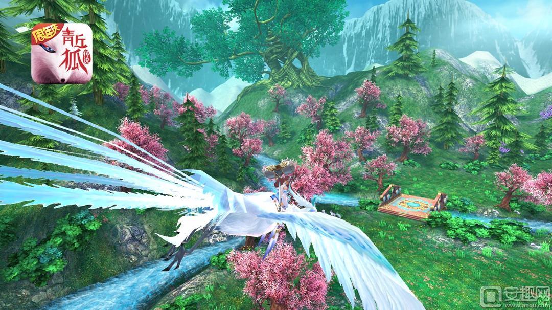 图2《青丘狐传说》手游——欣赏家园美景.jpg
